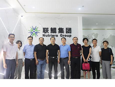 中国beplay手机官方科学研究院副院长刘英杰研究员一行莅临beplay下载app下载集团调研