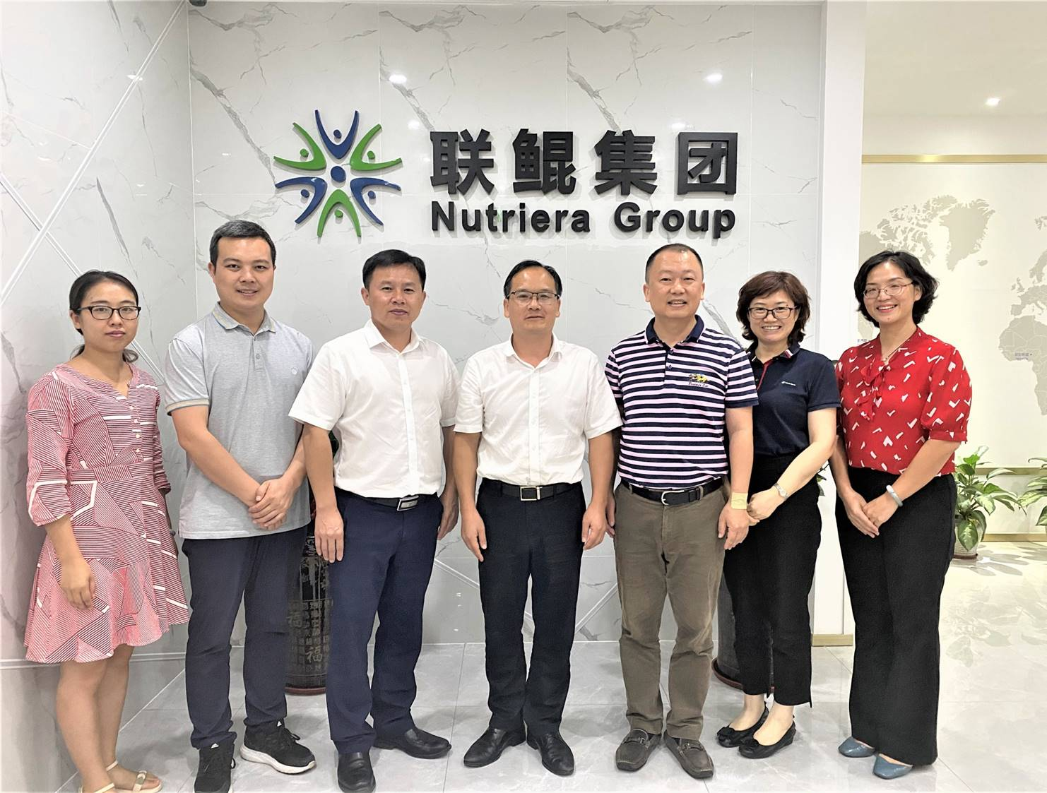 Experts from Hunan Fisheries Science Institute and Changsha University Visited Nutriera Group